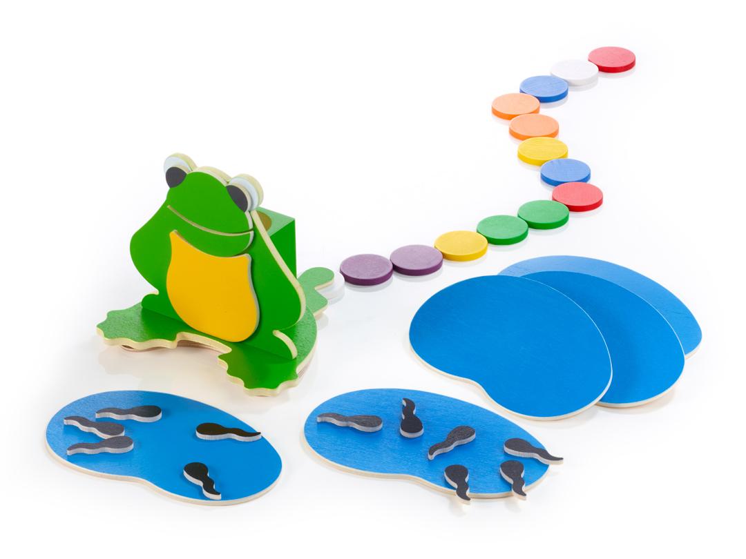 Das Frosch-Spiel vom Atelier LILA