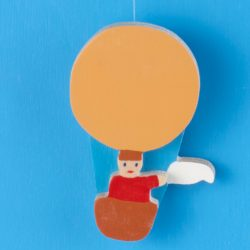 Ballonfahrer als Ersatz für den Ballonkalender