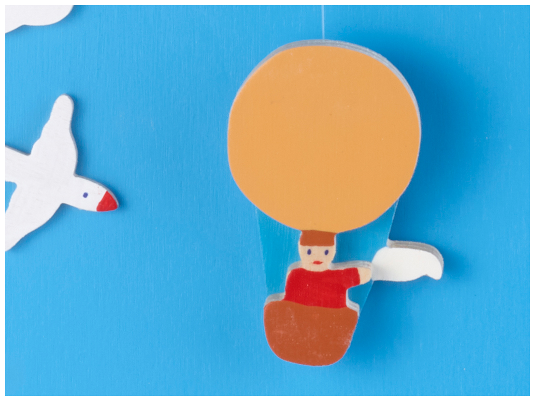 Ballonfahrer-Kalender